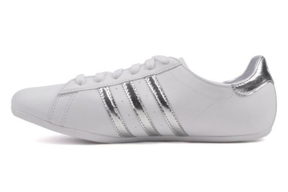 huge selection of 08084 1d529 adidas campus round blanche