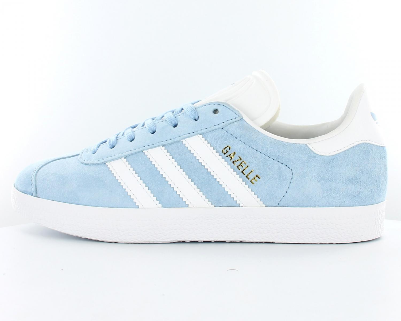 adidas gazelle bleu clair femme