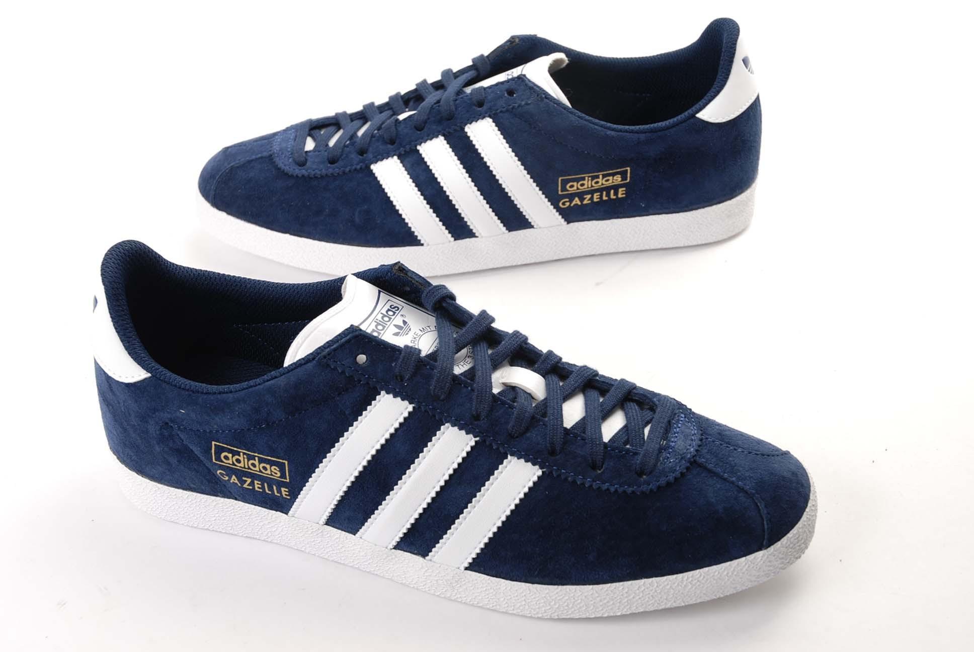 chaussures adidas gazelle femme bleu
