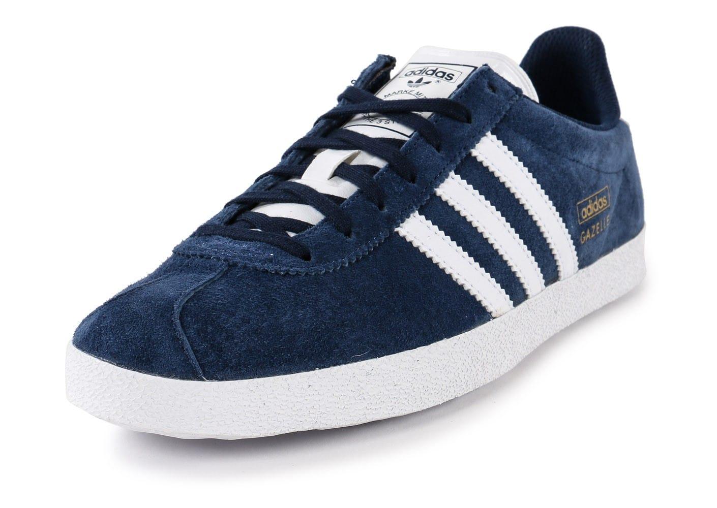 adidas gazelle bleu
