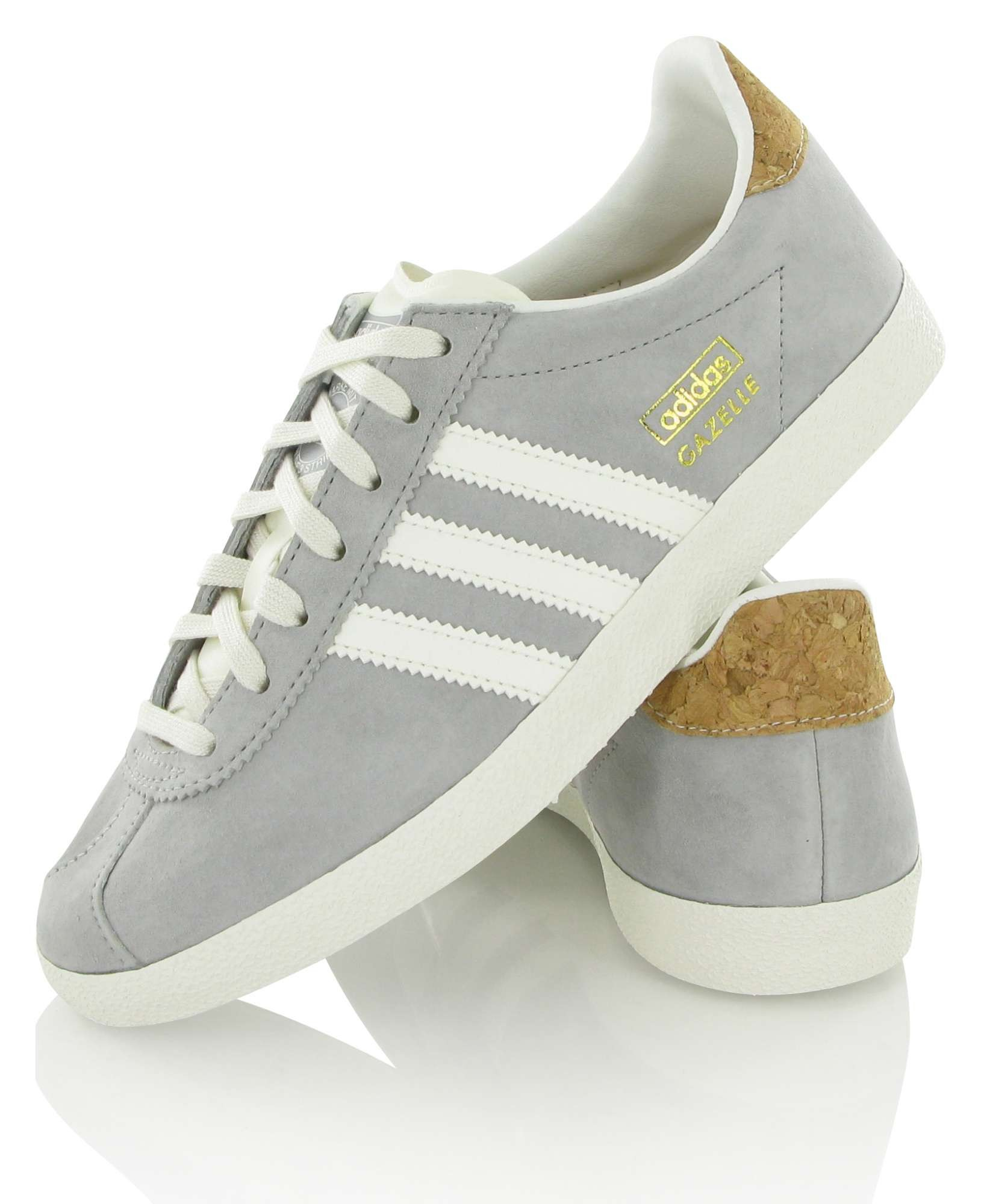 adidas gazelle grise clair femme