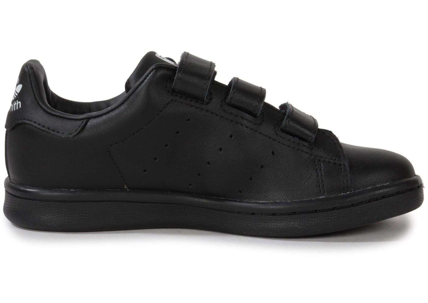Meilleures marques à bas prix adidas stan smith noir scratch
