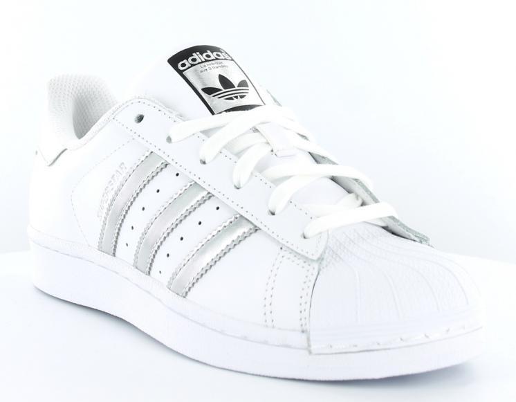 basket blanche femme adidas superstar