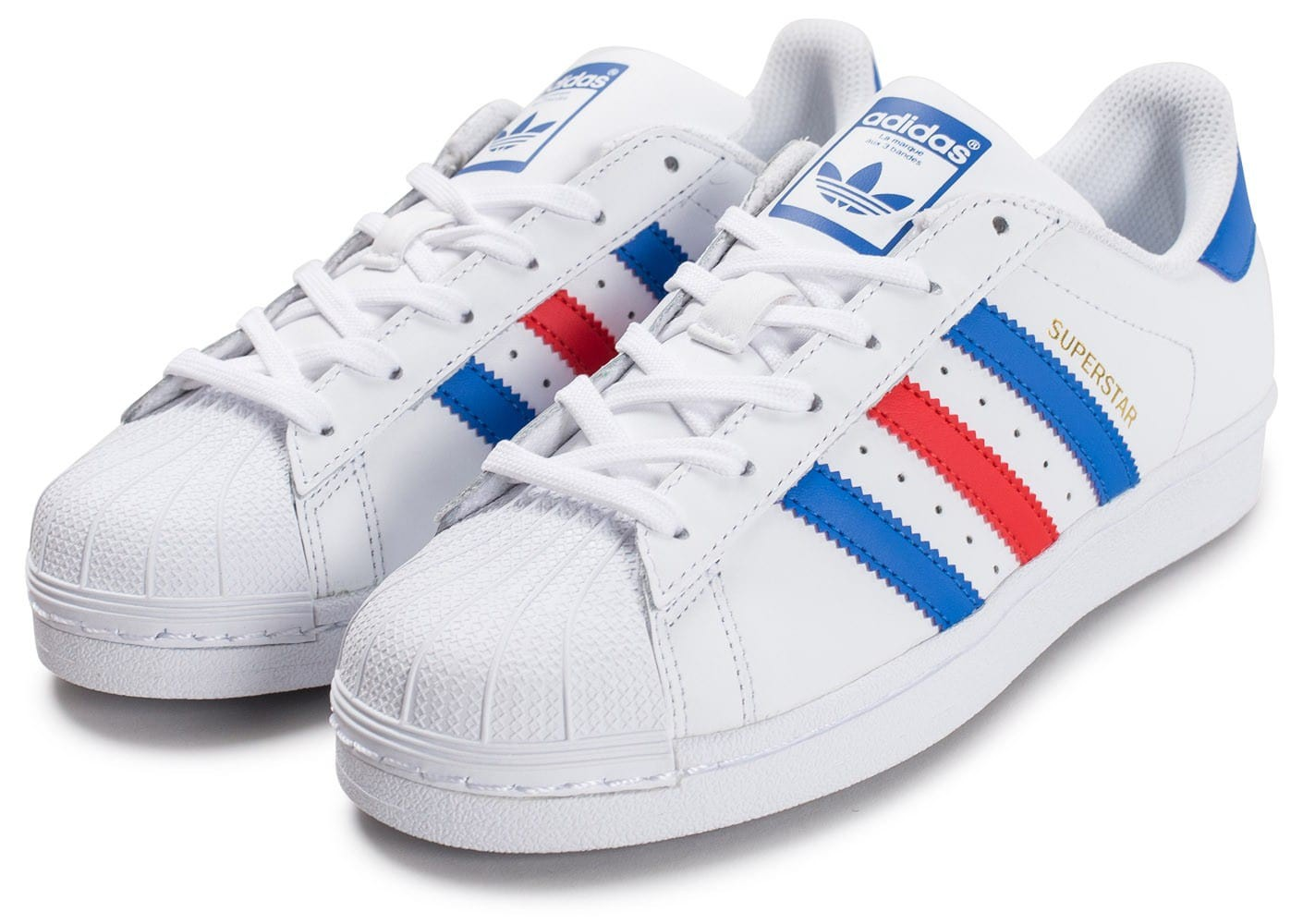 hot sales b796b 07be2 adidas superstar bleu blanc rouge homme .