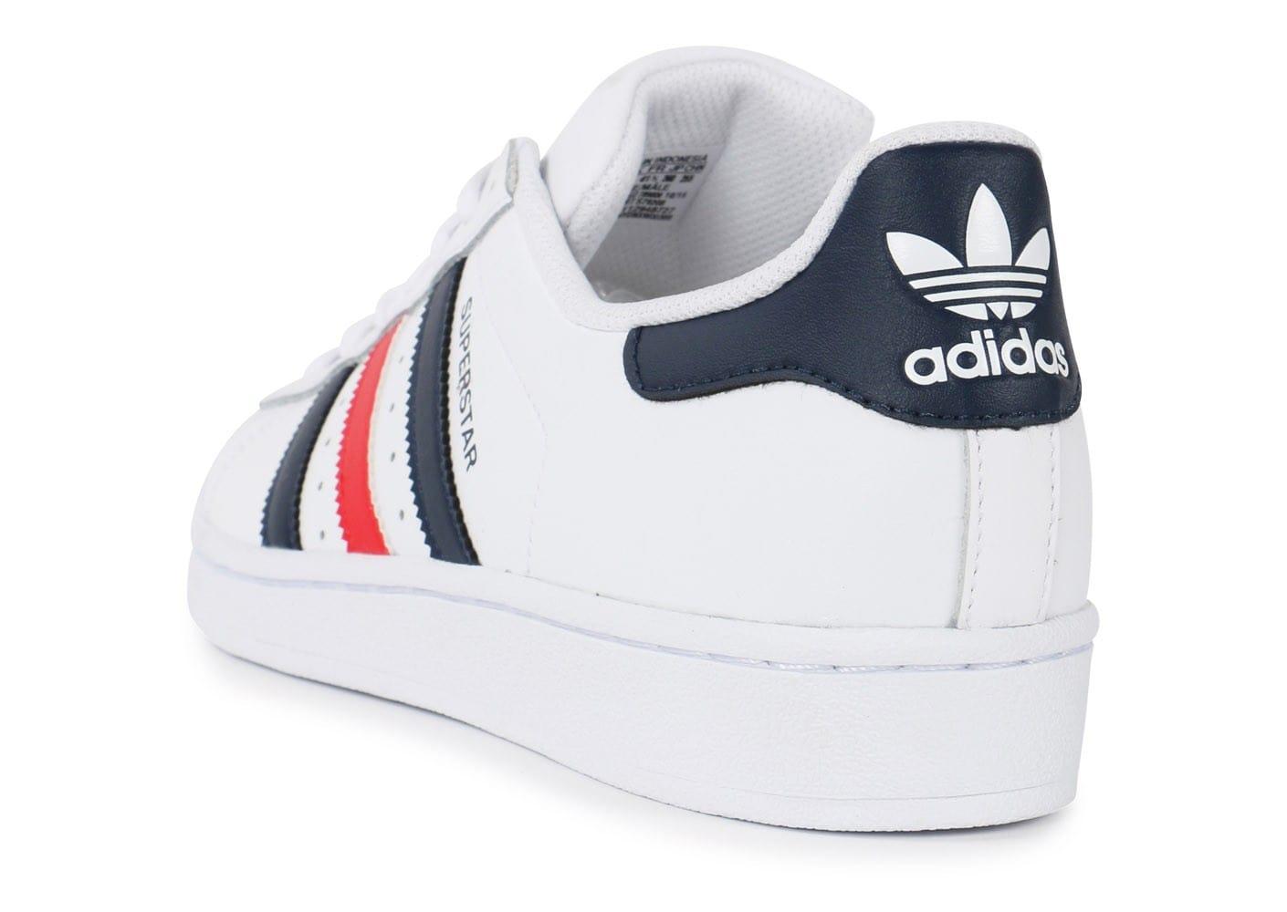 adidas superstar homme rouge et blanche