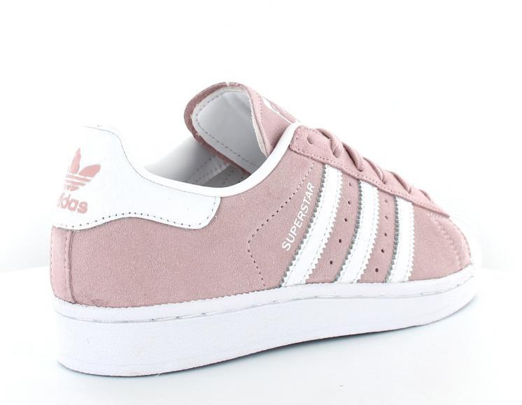 basket adidas superstar rose femme