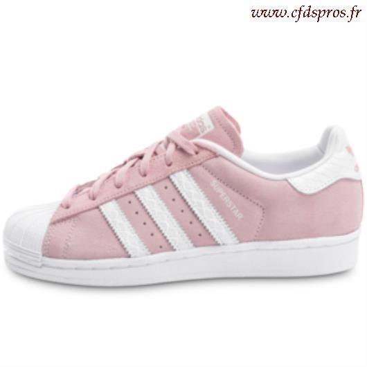 adidas superstar femme light pink