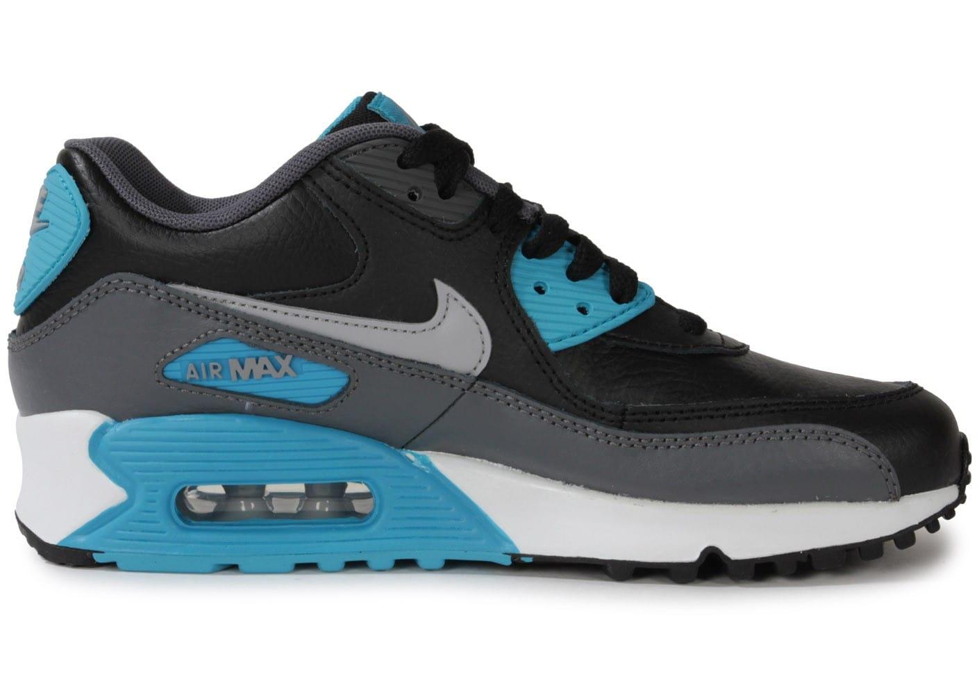 cheap for discount 4f69b 26364 air max 90 junior noir et bleu 6