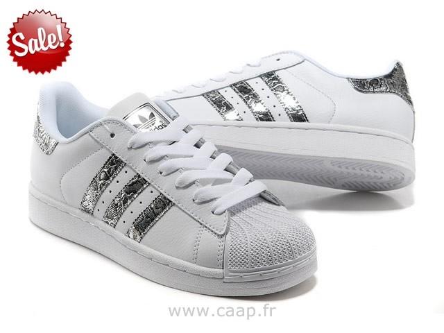 d0e4767f00b7 Meilleures marques à bas prix basket adidas argente Cuir Unisex ...