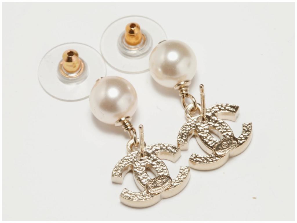 buy popular d11e6 8e4b1 bijou chanel fantaisie pas cher